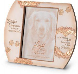 memorial pet frame
